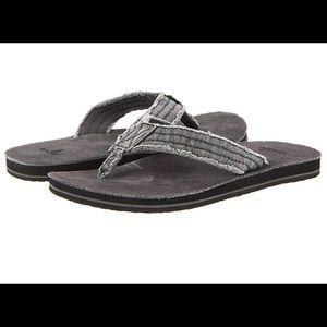 """Sanuk """"Fraid Not"""" men's flip flops"""